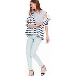 Spodnie damskie: SPODNIE BAWEŁNIANE DAMSKIE, RURKI