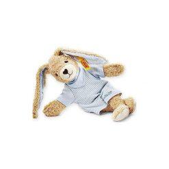 Steiff  Maskotka Zajączek Hoppel 20 cm kolor niebieski. Niebieskie przytulanki i maskotki marki Steiff, z bawełny. Za 121,00 zł.