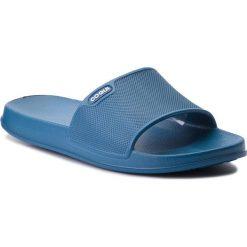 Klapki COQUI - Tora 7091 Niagara Blue. Niebieskie klapki męskie marki Coqui, z tworzywa sztucznego. Za 44,99 zł.