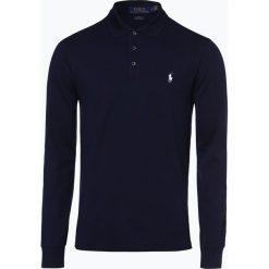 Polo Ralph Lauren - Męska koszulka polo – Slim fit, niebieski. Niebieskie koszulki polo Polo Ralph Lauren, l, z długim rękawem. Za 529,95 zł.