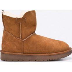 Tamaris - Śniegowce. Brązowe buty zimowe damskie Tamaris, z materiału. W wyprzedaży za 329,90 zł.