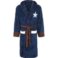Captain America Logo Szlafrok wielokolorowy. Niebieskie szlafroki kimona damskie Captain America, s, z motywem z bajki. Za 199,90 zł.