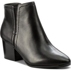Botki ALDO - Larissi 51946736 97. Czarne buty zimowe damskie ALDO, z materiału, na obcasie. W wyprzedaży za 229,00 zł.