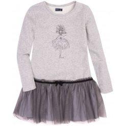 Sukienki dziewczęce: Sukienka z tiulową falbaną dla dziewczynki 9-13 lat