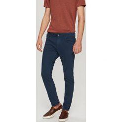 Rurki męskie: Jeansowe spodnie slim fit – Niebieski
