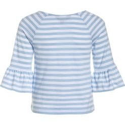Polo Ralph Lauren STRIPE Bluzka z długim rękawem elite blue/white. Niebieskie t-shirty chłopięce Polo Ralph Lauren, z bawełny, z długim rękawem. Za 229,00 zł.