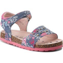 Sandały dziewczęce: Sandały NELLI BLU – CM170817-48 Niebieski