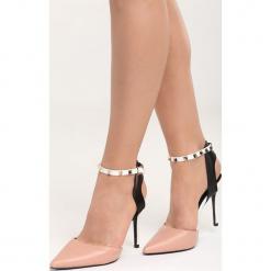 Różowe Sandały I'm a Fool. Czerwone sandały damskie Born2be, w paski, na wysokim obcasie, na szpilce. Za 89,99 zł.
