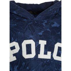 Polo Ralph Lauren Bluza z kapturem blue. Niebieskie bluzy chłopięce Polo Ralph Lauren, z bawełny, z kapturem. W wyprzedaży za 254,25 zł.