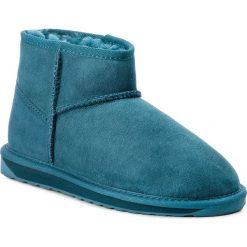 Buty EMU AUSTRALIA - Stinger Micro W10937 Teal. Niebieskie buty zimowe damskie EMU Australia, ze skóry. Za 559,00 zł.