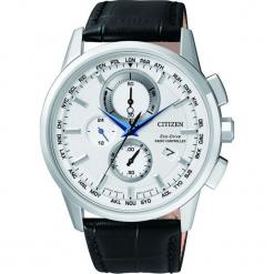 ZEGAREK CITIZEN Radio Controlled AT8110-11A. Białe zegarki męskie CITIZEN, ze stali. Za 1980,00 zł.