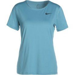Nike Performance ALL OVER Tshirt basic noise aqua/black. Niebieskie t-shirty damskie Nike Performance, xl, z elastanu. Za 129,00 zł.