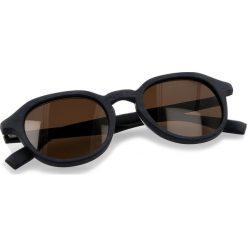 Okulary przeciwsłoneczne BOSS - 0321/S Mtblue Wood 2WF. Niebieskie okulary przeciwsłoneczne damskie lenonki marki Boss, z tworzywa sztucznego. W wyprzedaży za 399,00 zł.