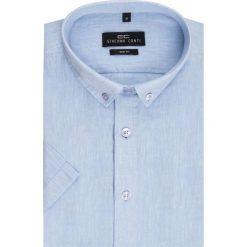 Koszula SIMONE KLNS500011. Czarne koszule męskie na spinki marki TOM TAILOR DENIM, l, z bawełny, button down, z długim rękawem. Za 149,00 zł.