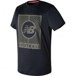 Koszulka treningowa MT732053BK. Czerwone koszulki sportowe męskie marki New Balance, na jesień, m, z materiału. Za 99,99 zł.
