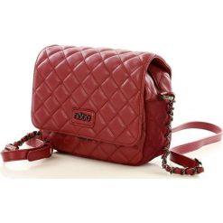 Klasyczna torebka shopper bag 2 in 1. Brązowe shopper bag damskie marki Nobo, w paski, ze skóry ekologicznej. Za 140,00 zł.