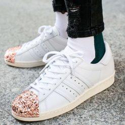 Buty adidas Superstar 80s 3D Metal Toe (BB2034). Czarne buty sportowe damskie marki Adidas, z kauczuku. Za 179,99 zł.