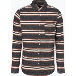 Review - Koszula męska, niebieski. Szare koszule męskie marki Review, l, button down, z długim rękawem. Za 149,95 zł.