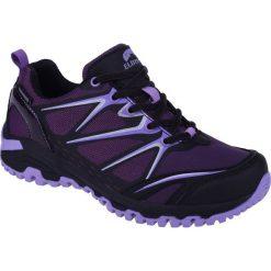Buty trekkingowe damskie: ELBRUS Buty Damskie Tanner Low  WP Wo's Black/Dark Violet/Light Purple r. 36
