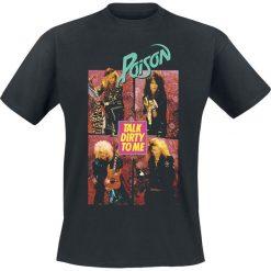Poison Talk Dirty To Me T-Shirt czarny. Czarne t-shirty męskie Poison, xl. Za 74,90 zł.