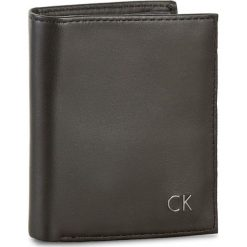 Portfele męskie: Mały Portfel Męski CALVIN KLEIN BLACK LABEL – Leon Mini Ns 6Cc Coin Pass K50K502229 001