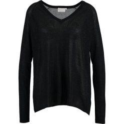 Swetry klasyczne damskie: Kaffe RENATA Sweter black deep