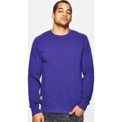 Bejsbolówki męskie: Gładka bluza basic - Fioletowy