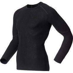Odlo Koszulka męska Shirt l/s crew neck X-WARM czarna r. L (155162). Czarne koszulki sportowe męskie marki Odlo, l. Za 229,95 zł.