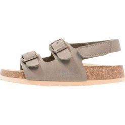 Sandały męskie skórzane: Superfit FUSSBETTPANTOFFEL Sandały truffle