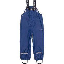 Spodnie niemowlęce: Spodnie przeciwdeszczowe w kolorze granatowym