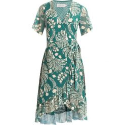 Sukienki hiszpanki: Soaked in Luxury UNA DRESS Sukienka letnia storm green