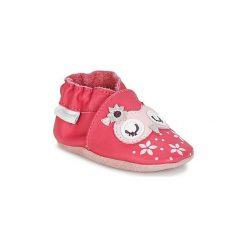 Kapcie dziewczęce: Kapcie niemowlęce Dziecko  Robeez  SNOWY OWL