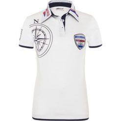 """Bluzki damskie: Koszulka polo """"Egersund"""" w kolorze białym"""