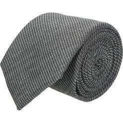 Krawat cotton szary classic 203. Szare krawaty męskie Recman, z bawełny, eleganckie. Za 59,00 zł.