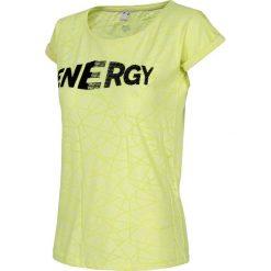 Bluzki, topy, tuniki: T-shirt damski TSD019 - jasna zieleń neon