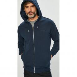 Diesel - Bluza. Czarne bluzy męskie rozpinane Diesel, l, z bawełny, z kapturem. Za 379,90 zł.
