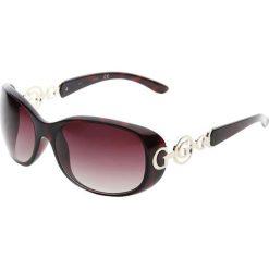 """Okulary przeciwsłoneczne damskie: Okulary przeciwsłoneczne """"GU7022F S57"""" w kolorze czarnym"""