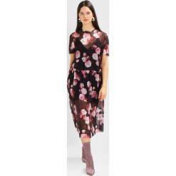 Długie sukienki: NAKD FLORAL DRESS Długa sukienka red