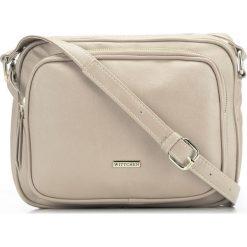 Torebka damska 86-4Y-115-0. Brązowe walizki Wittchen, w paski, z materiału, duże. Za 199,00 zł.