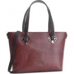 Torebka NOBO - NBAG-D0350-C005 Bordowy Czarny. Czarne torebki klasyczne damskie marki Nobo, ze skóry ekologicznej, bez dodatków. W wyprzedaży za 179,00 zł.