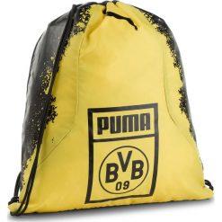 Plecak PUMA - Bvb Fan Gym Sack 075568 01 Puma Black/Cyber Yellow. Czarne plecaki męskie Puma, z materiału, sportowe. Za 79,00 zł.