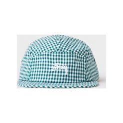 Czapka Stussy Gingham Stock Camp Cap (132833-0401). Białe czapki z daszkiem męskie Stussy, z bawełny. Za 106,99 zł.