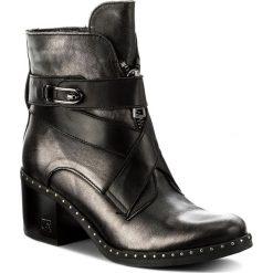 Botki CARINII - B4053 K73-E50-POL-861. Czarne buty zimowe damskie marki Carinii, ze skóry. W wyprzedaży za 249,00 zł.