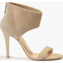 Sandały beżowe Hermiona. Brązowe sandały damskie Badura. Za 151,99 zł.