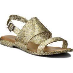 Rzymianki damskie: Sandały MELISSA – Classy Ad 31897 Mixed Golden Glitter 03771