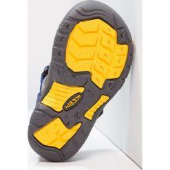 Keen NEWPORT H2 Sandały trekkingowe blue depths/gargoyle. Niebieskie sandały chłopięce Keen, z gumy. Za 169,00 zł.