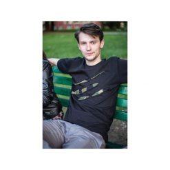 T-shirt #torn camo. Czarne t-shirty męskie Desert snow, m, z aplikacjami, z bawełny. Za 74,00 zł.
