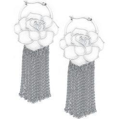 Steel Highline® Rose Kolczyki srebrny. Szare kolczyki damskie Steel Highline®, srebrne. Za 144,90 zł.