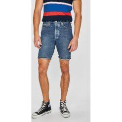 Levi's - Szorty 501. Czerwone spodenki jeansowe męskie marki Cropp. Za 199,90 zł.