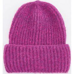 Czapka - Różowy. Czerwone czapki damskie Reserved. Za 49,99 zł.